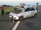Cão em rodovia provoca acidente com mortes na SP-280, diz bombeiro