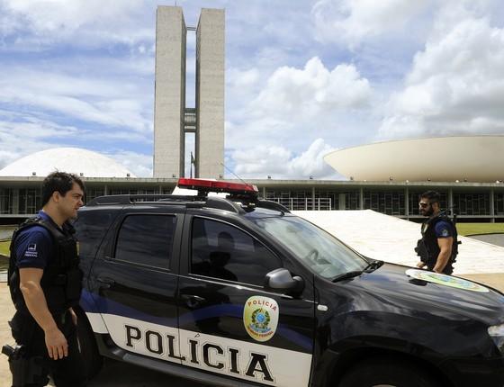 Polícia do Senado (Foto: Edilson Rodrigues/Agência Senado)