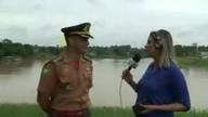 Major fala sobre nível do Rio Acre na capital acreana e demais municípios