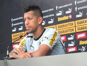 Antonio Carlos, Botafogo (Foto: Thales Soares / Globoesporte.com)
