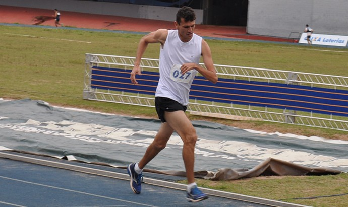 Jean Adriano, medalhista na etapa nacional (Foto: Edson Cavalli/ADD-MS)