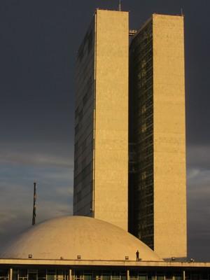 Cúpula do Senado Federal, no Congresso Nacional (Foto: Alexandre Bastos/G1)