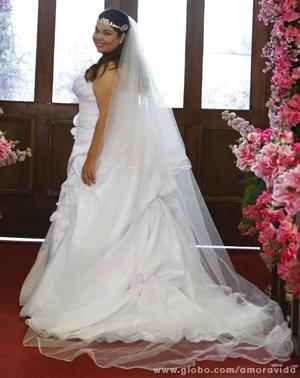 Perséfone de noiva (Foto: Pedro Curi / TV Globo)