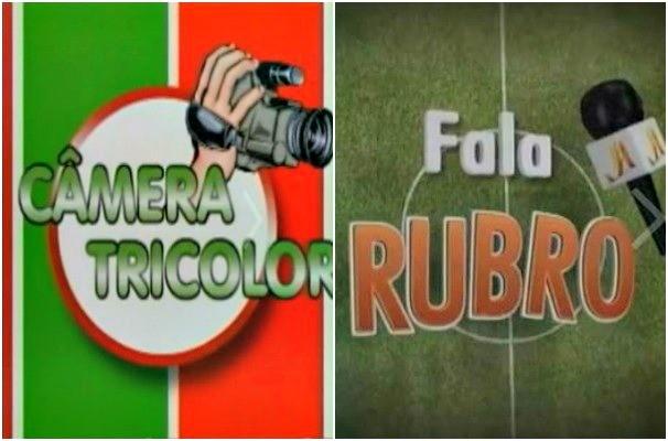 """""""Câmera Tricolor"""" e """"Fala Rubro"""" são ações que mostram o que os torcedores gaúchos querem dizer sobre seus times  (Foto: Montagem sobre fotos/Reprodução RBS TV)"""