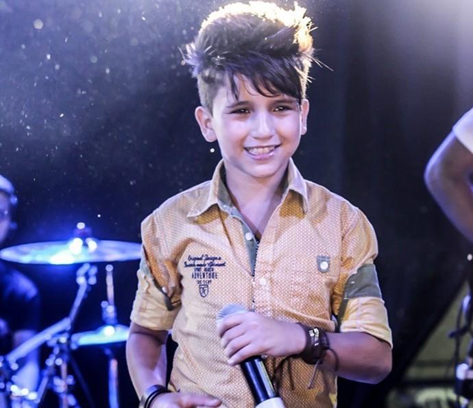 Rogerinho Costa é cantor sertanejo e estreia como ator em 'Velho Chico' (Foto: Arquivo Pessoal)