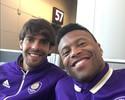 Júlio Baptista chega com pé direito ao Orlando para últimos passos com Kaká