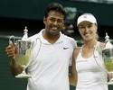 Nas duplas mistas, Martina Hingis leva mais um título em Wimbledon 2015