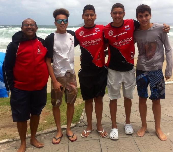 Equipe masculina juvenil de Presidente Prudente (Foto: Divulgação)