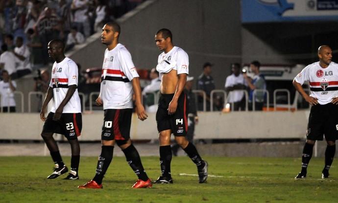 Fluminense x São Paulo no dia 21/05/2008 (Foto: André Durão)