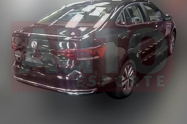 2018 volkswagen virtus. brilliant 2018 volkswagen virtus aparece completamente sem camuflagem foto reproduo   autoesporte inside 2018 volkswagen virtus t