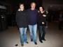Denise Fraga vai com a família a show do grupo Yes