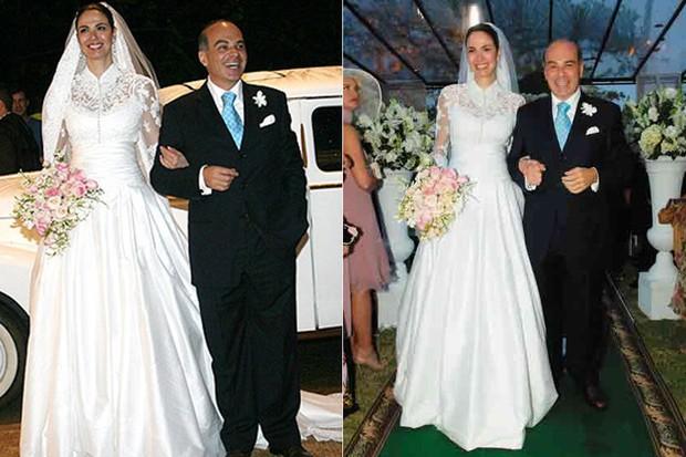 CASAMENTOS - Luciana Gimenez e Marcelo de Carvalho  - 2006 (Foto: reprodução)