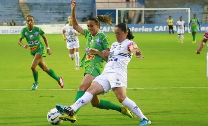 São José futebol feminino x Rio Preto futebol feminino (Foto: Robson Fernandjes/Allsports)