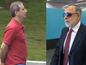BDBR - Alberto Youssef e Paulo Roberto Costa (Foto: Reprodução TV Globo)