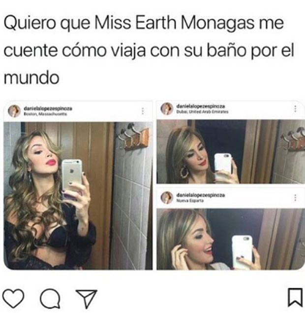Miss Venezuela virta meme (Foto: Reprodução)