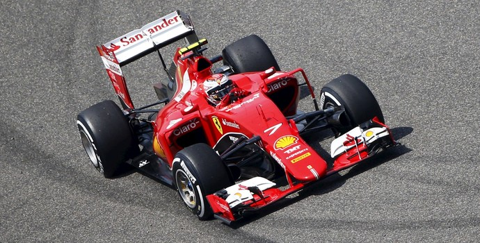 Kimi Raikkonen Ferrari Treino Classificatório GP da China (Foto: Reuters)