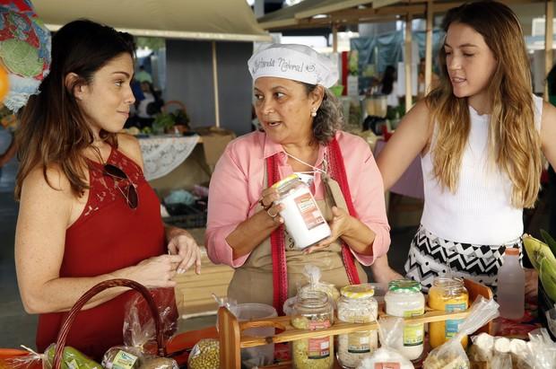 Thalita Lippi, Anita Santoro e Maria Vasconcellos Rocha (Foto: Marcos Serra Lima / EGO)