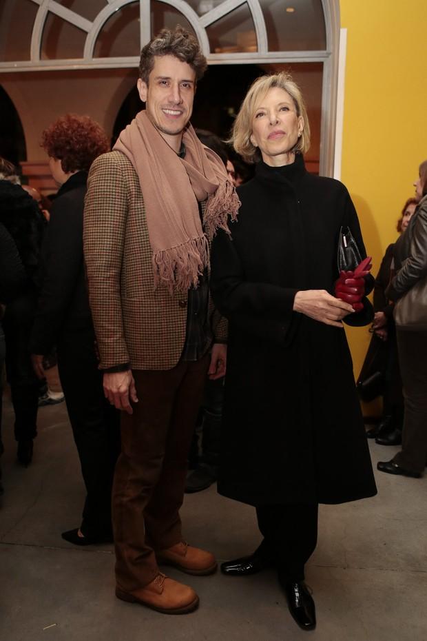 Theodoro Cochrane e Marília Gabriela (Foto: Rafael Cusato/Brazil News)