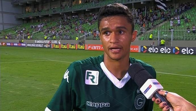 Erik - atacante do Goiás (Foto: Reprodução / PFC)