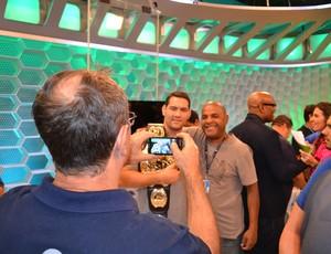 Chris Weidman Esporte Espetacular UFC MMA (Foto: Adriano Albuquerque)