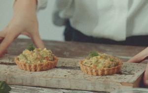 Receita de tortinha vegana de guacamole