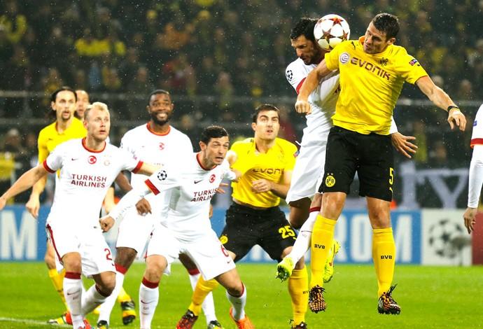 Borussia Dortmund X Galatasaray (Foto: Agência AP)