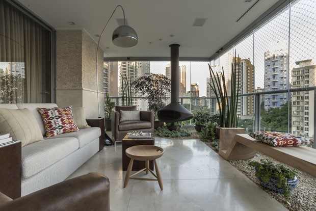 Top 10: salas de estar com lareira (Foto: Divulgação)
