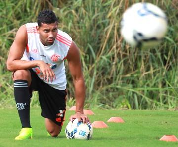 Andre Santo Treino Flamengo (Foto: Gilvan de Souza / Flamengo)
