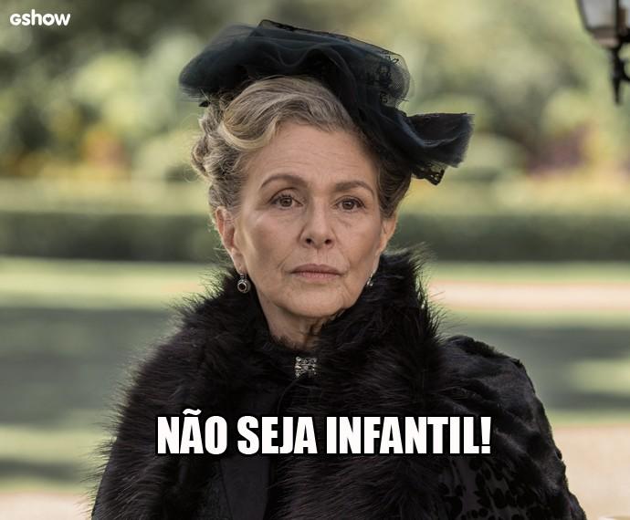 Condessa Vitória manda para Melissa! (Foto: Gshow)