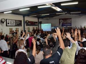 Bancários decidiram colocar fim à greve em Piracicaba (Foto: Mariana Valadares/Sindicato)