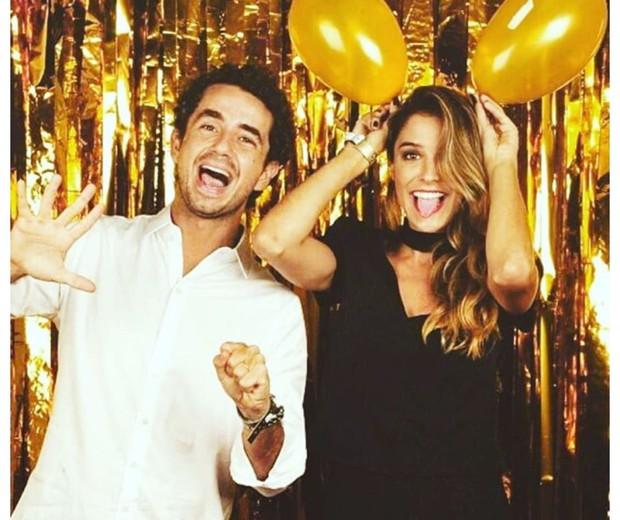 Rafa Brites e Felipe Andreoli comemoram seis anos de casamento (Foto: Reprodução Instagram @rafabrites)
