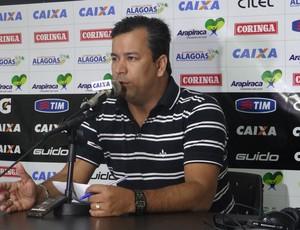 Rogério Siqueira, diretor de futebol do ASA (Foto: Leonardo Freire/GloboEsporte.com)