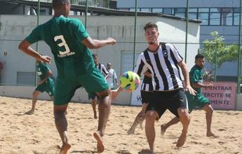 Botafogo vence o Gama na estreia da Pré-Copa Brasil de futebol de areia