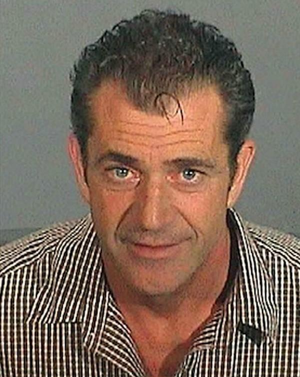 Mugsthot de Mel Gibson  (Foto: Reprodução)