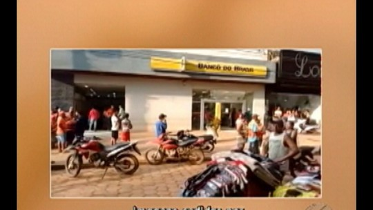 Assalto a banco termina com dois funcionários feridos no sudeste do PA