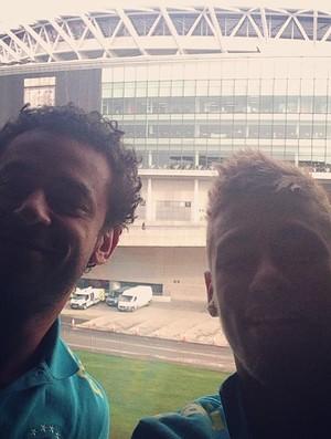 Neymar e Fred, Seleção Brasileira (Foto: Reprodução  / Instagram)