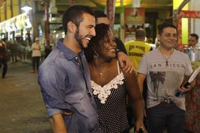 Ex-BBB Matheus em evento na Zona Norte do Rio (Foto: Anderson Barros/ EGO)