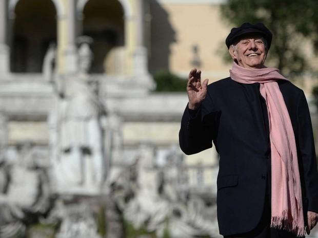 Dario Fo em junho de 2016 (Foto: Filippo Monteforte / AFP Photo)