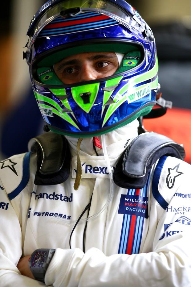 """""""Ainda tenho tempo antes de pensar em mudar de categoria"""", diz Felipe Massa"""