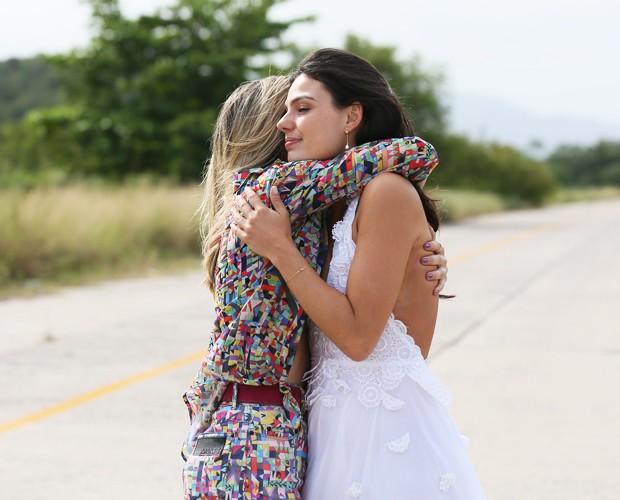 As belas não escondem o clima de despedida (Foto: Isabella Pinheiro/Gshow)