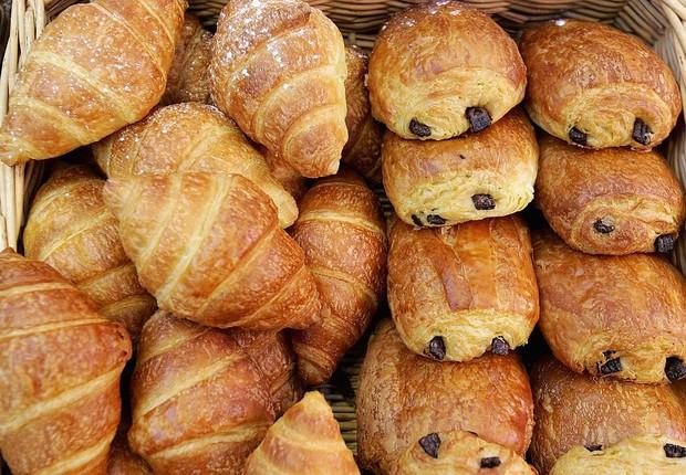 croissant, pão com chocolate, manteiga, culinária francesa (Foto: Chris Jackson/Getty Images)