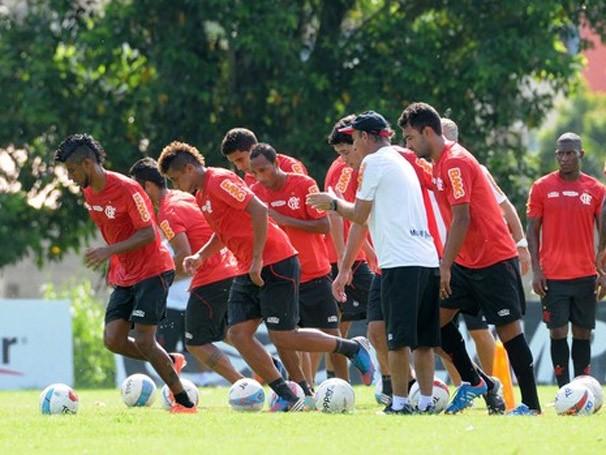 Time do Flamengo treina para o Campeonato Carioca (Foto: Alexandre Vidal / Flaimagem)