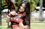 Skarllet Rosendo, do Atlético-GO, é eleita a Musa do Goianão (Evandro Duarte)