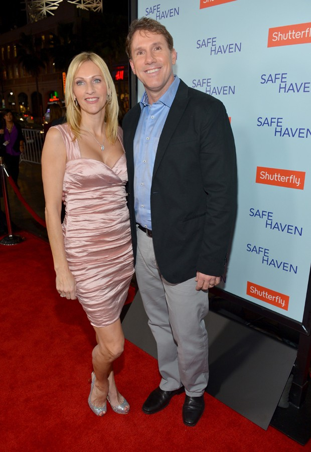 Nicholas Sparks e a ex-mulher, Cathy Sparks (Foto: Getty Images)