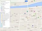 Google divulga mapa com principais pontos turísticos da Flip 2014