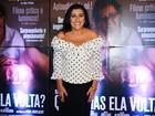 Regina Casé lança filme e é prestigiada por famosos
