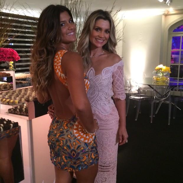 Giulia e Flávia Alessandra (Foto: Reprodução / Instagram)