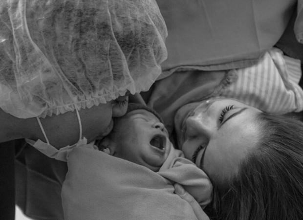 Maria Cecília e Rodolfo com o primeiro filho, Pedro (Foto: Reprodução/Instagram)