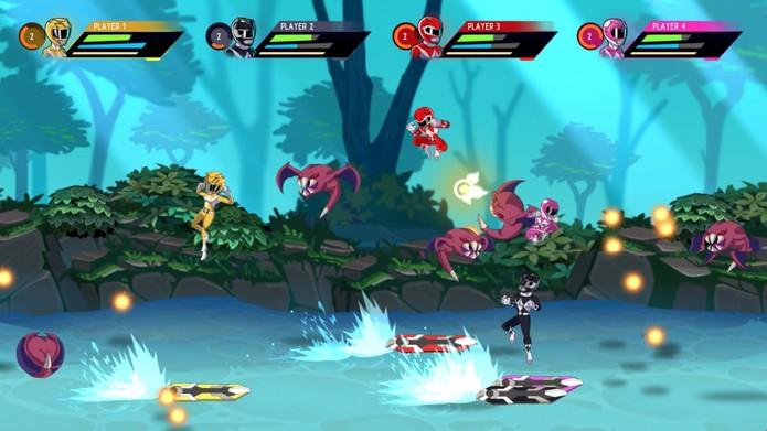 Mighty Morphin Power Rangers Mega Battle Reveal Screen Shots 2