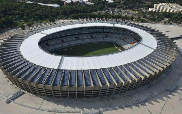 sistema de energia solar do Mineirão (Foto: Divulgação/Secopa)